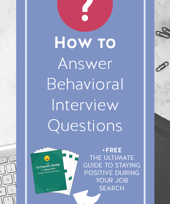 how to answer behavioral