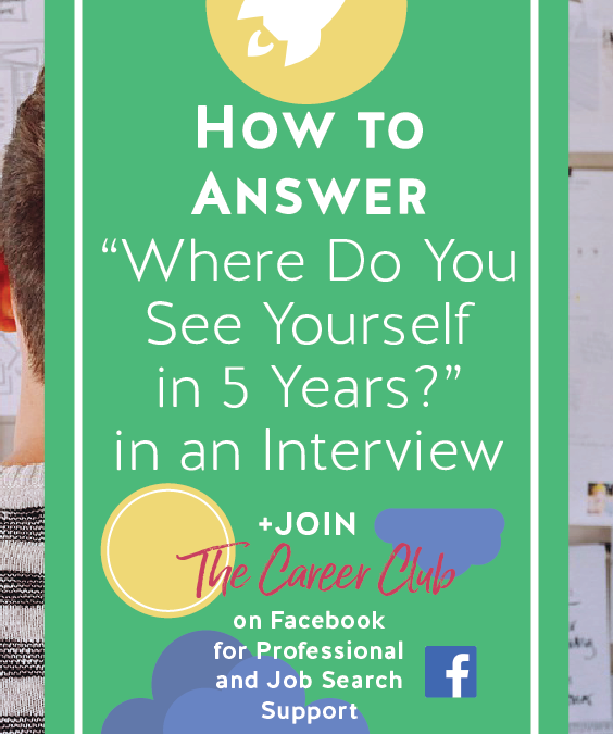 interview question where do you see yourself in 5 years youtube